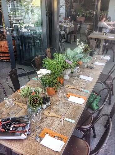 Vegetable table decor