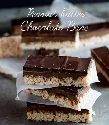 Peanut-butter-chocolate-bars