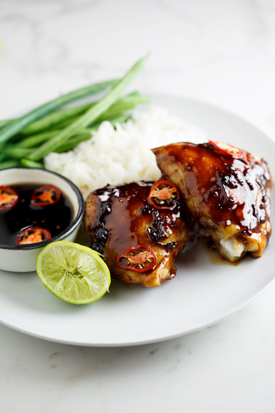 Sweet chilli and Soy baked chicken - Simply Delicious