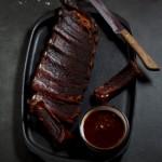 Cocoa & Spice rubbed ribs