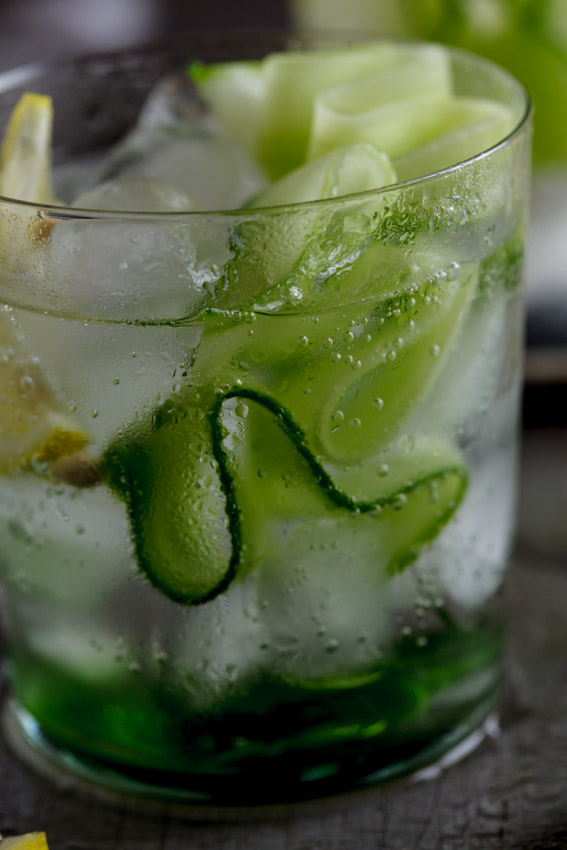 Gin Amp Tonic With Cucumber Simply Delicious