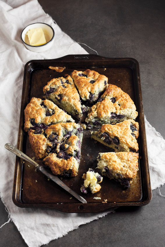 Blueberry lemon scones - Simply Delicious
