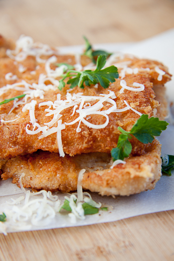 Pecorino Crumbed Chicken