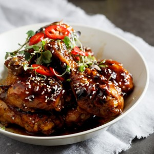 Sweet sesame chicken