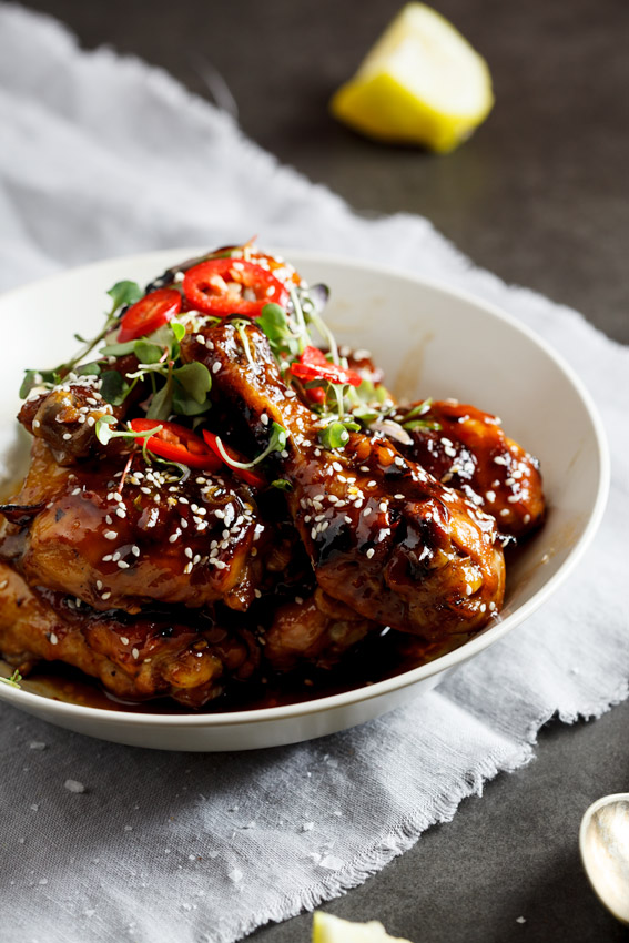 Sticky Sesame chicken - Simply Delicious