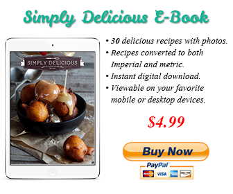 Simply Delicious Recipe Ebook