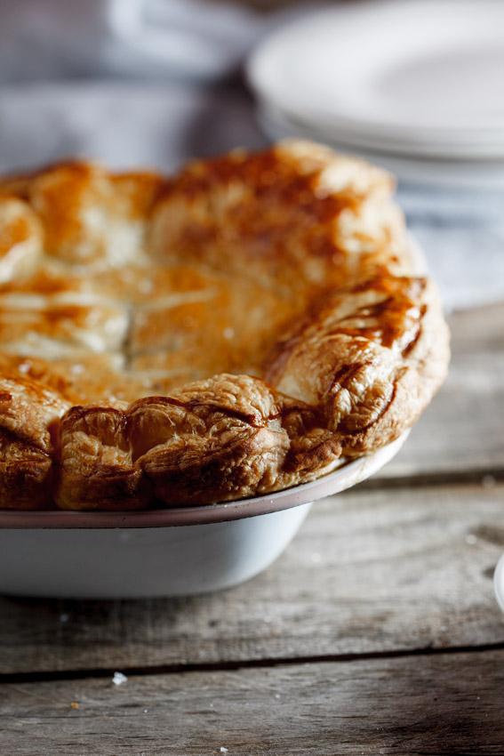 Easy Weekday chicken pot pie