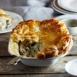 Easy weekday chicken pot pie