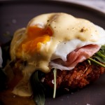 Eggs Benedict on Hash browns