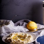 Labneh with lemon zest & thyme