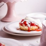 Buttermilk scones with easy strawberry vanilla jam and a Le Creuset Giveaway