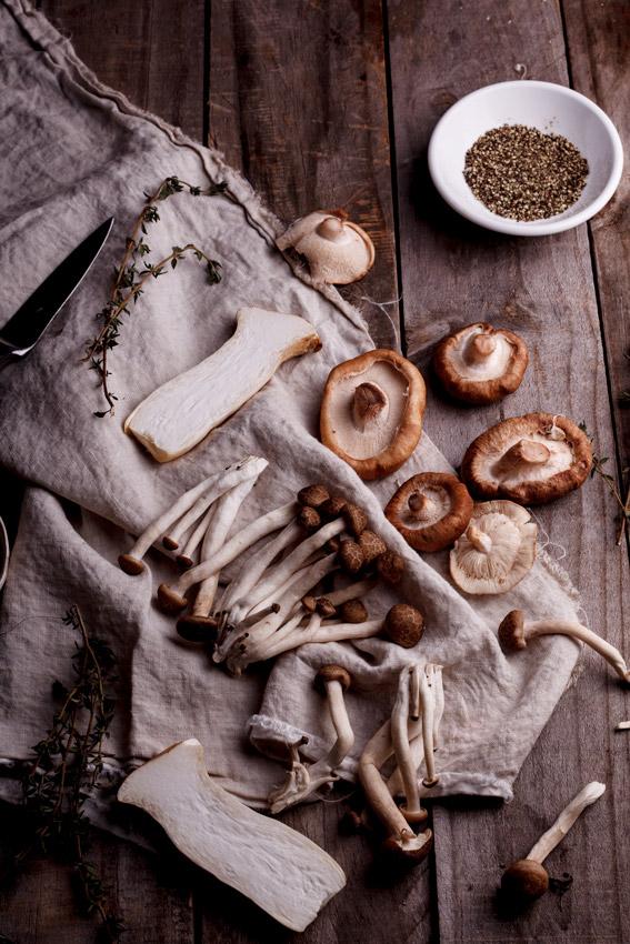 Exotic mushrooms