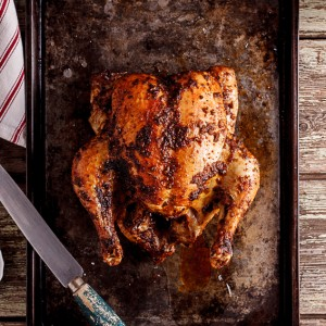 kick-ass roast chicken