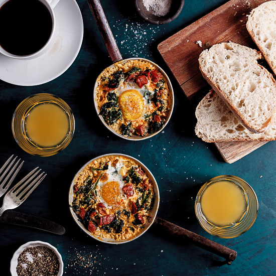dolcetto baked eggs with spinach and tomatoes baked eggs with spinach ...
