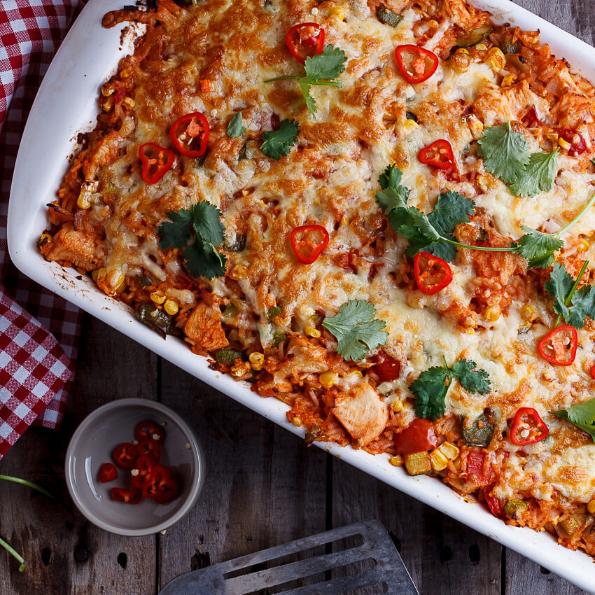 Mexican chicken and rice casserole simply delicious forumfinder Choice Image