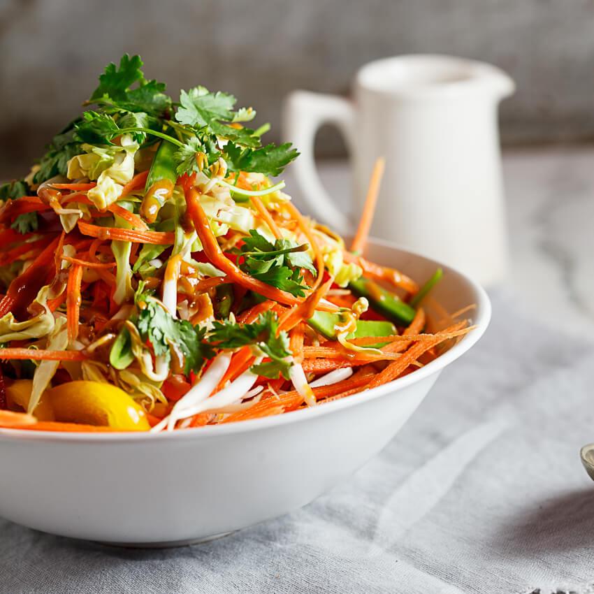 Shredded Thai Chicken Salad