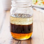 Soy, honey and sesame salad dressing