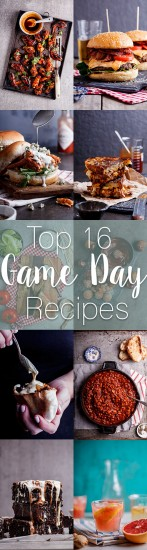 Top 16 Game Day recipes