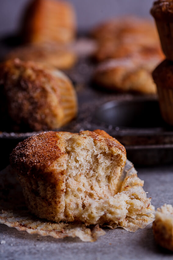 Banana, date and pecan muffins with cinnamon sugar - Simply Delicious