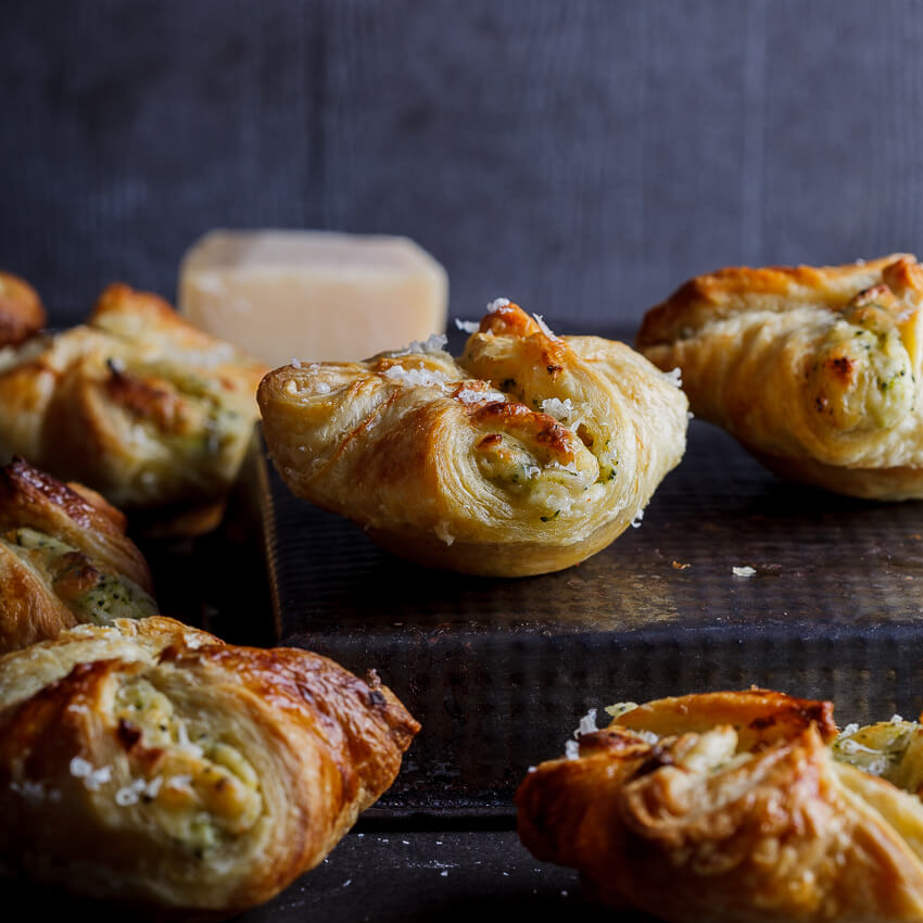 Cheesy Broccoli Puffs Simply Delicious