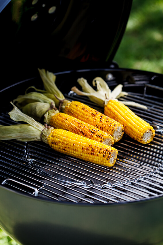 Corn grilling
