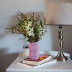 DIY Mason jar vase
