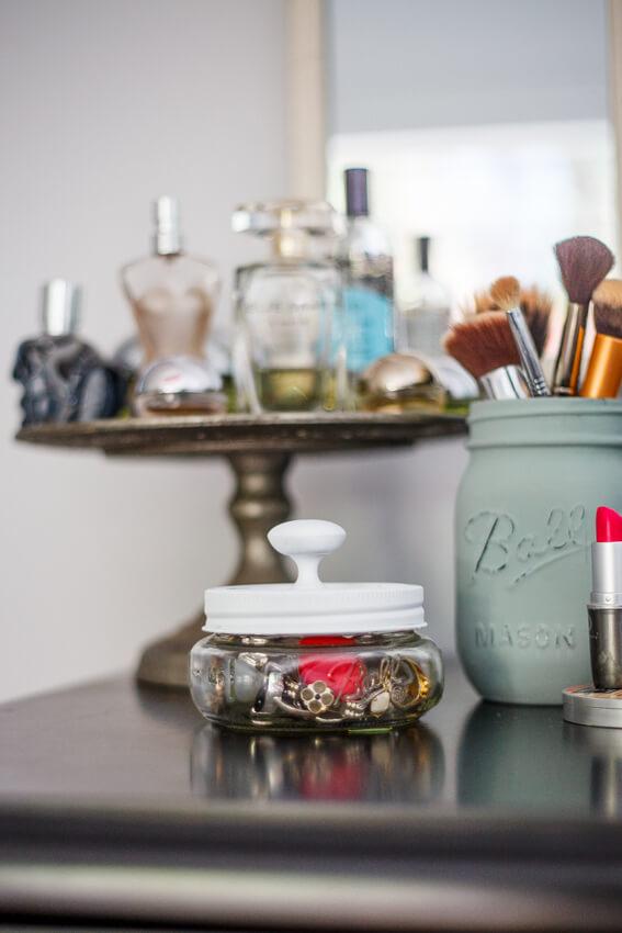 DIY mason keepsake jar