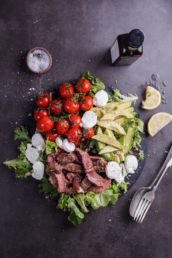 The ultimate steak salad