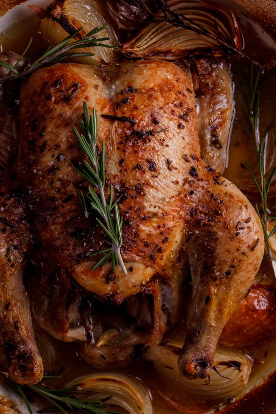 Easy Tuscan roast chicken