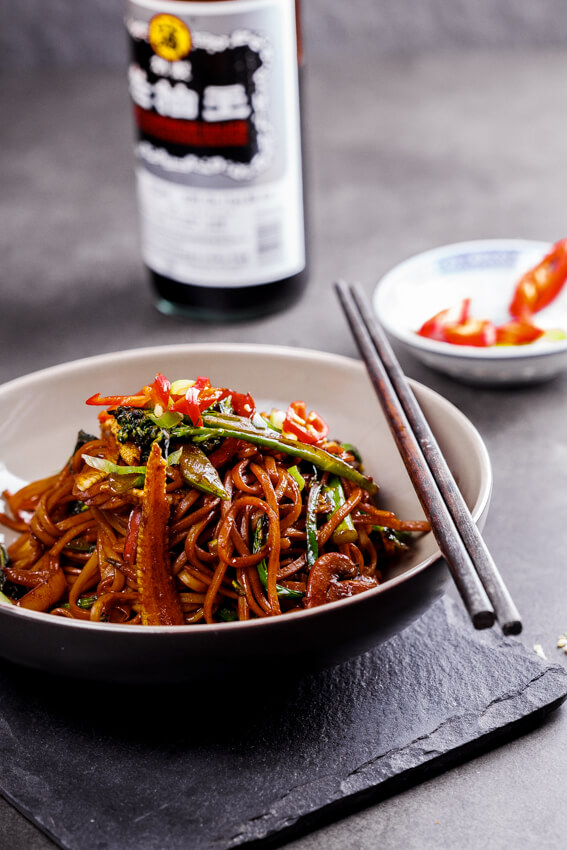 how to make vegetable chow mein without noodles