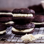 Chocolate wasted brownie cookie sandwiches