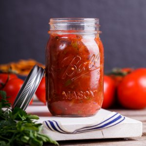 Easy home-made salsa
