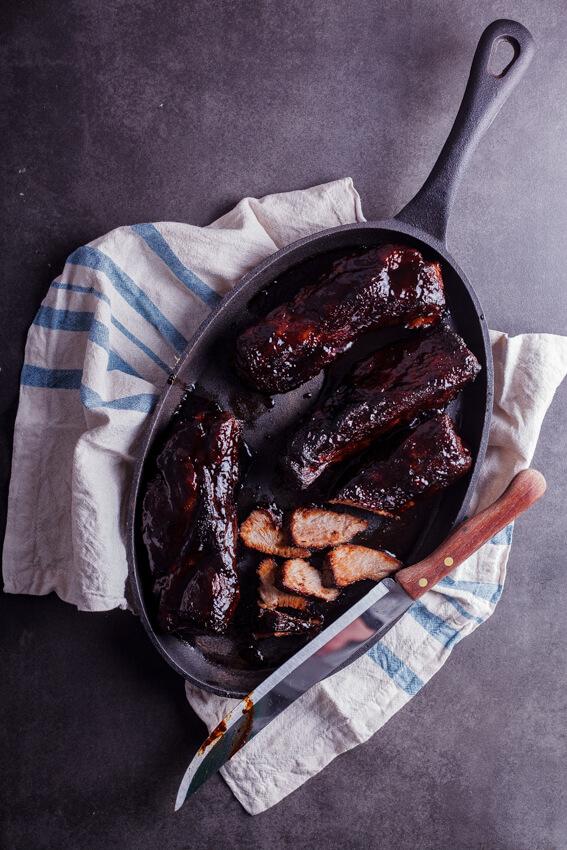 Sticky Chinese BBQ pork