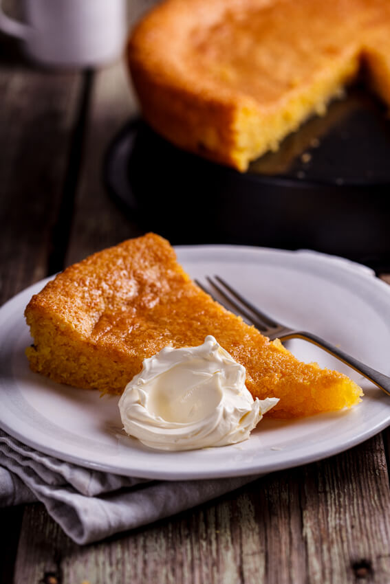 An intensely lemony, gluten-free polenta almond cake drenched in lemon ...