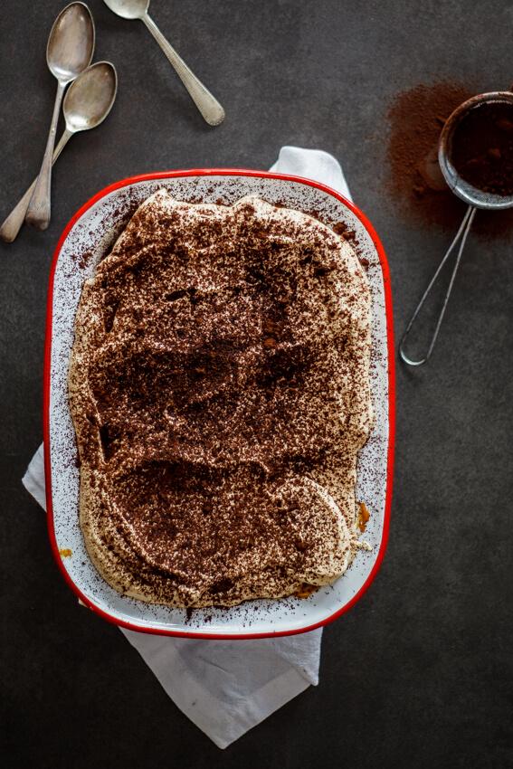 Easy caramel tiramisu