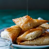Greek feta pies