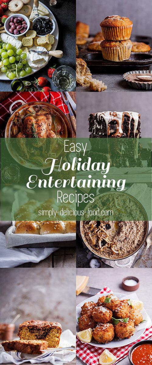 Holiday entertaining recipes