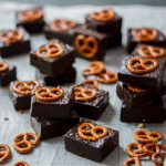 Easy salted pretzel chocolate fudge