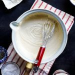 How to make Béchamel/cheese sauce