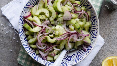 Cucumber Salad Marinated Recipe