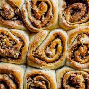Sticky Baklava rolls