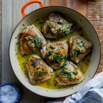 Chicken Piccata thighs