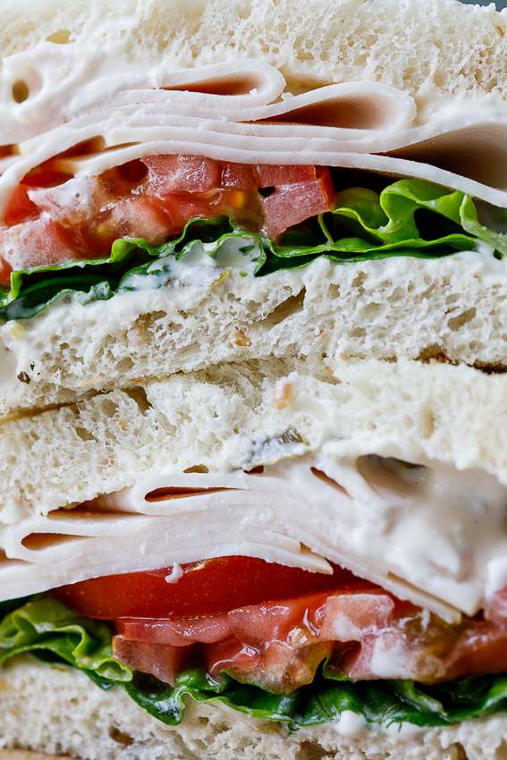 Smoked chicken sandwich with jalapeño mayo