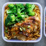 Soy honey noodle salad – Meal Prep