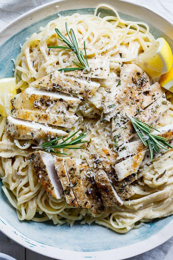 Rosemary cream chicken pasta