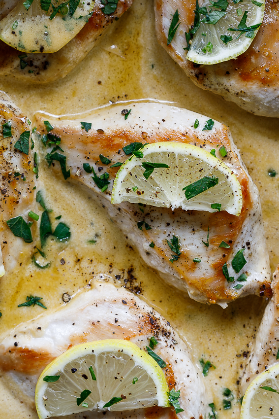 One pan lemon butter chicken