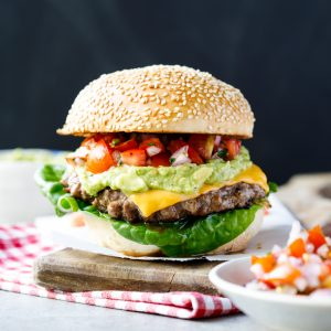 Mexican cheeseburgers