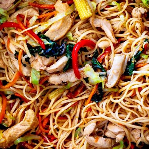 Easy 20-minute chicken stir fry