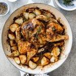 Lemon herb roast chicken