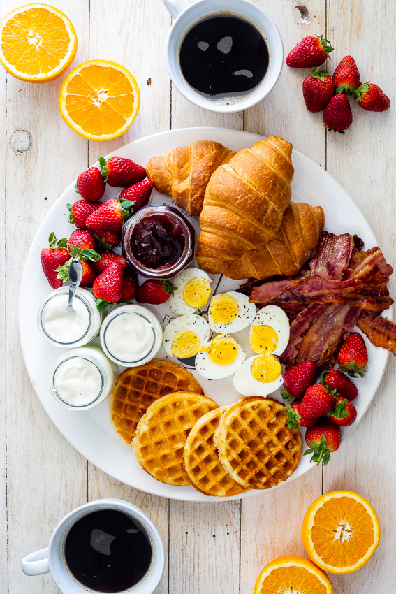 Easy Holiday breakfast board
